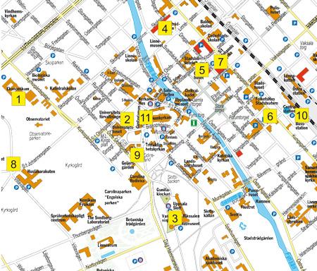 Pokemon Map Uppsala
